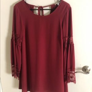Long Sleeve Red Dress (small)